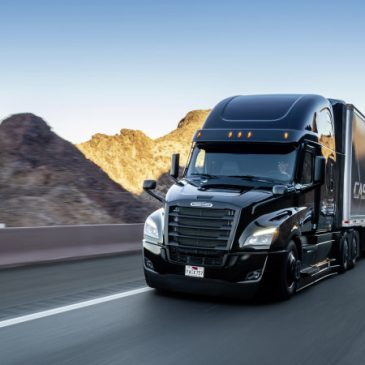 Freightliner new Cascadia, January 2019. Technical Data: Exterior, black, 126BBC w/72Ó Raised Roof Sleeper, DD15 w/ 400HP  &  1,750 lb/ft torque, DT12 Direct Drive, AeroX Package, Professional Exterior Finish Appearance Package with additional black powder-coated items, Detroit Connect Virtual TechnicianFreightliner new Cascadia, January 2019. Technical Data: Exterior, black, 126BBC w/72Ó Raised Roof Sleeper, DD15 w/ 400HP  &  1,750 lb/ft torque, DT12 Direct Drive, AeroX Package, Professional Exterior Finish Appearance Package with additional black powder-coated items, Detroit Connect Virtual Technician