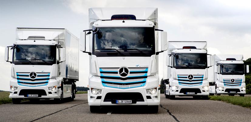 Mercedez-Benz Trucks alista el lanzamiento del eActros